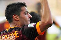 EsultanzaIago Falqueduring italian serie a soccer match between Frosinone e Roma