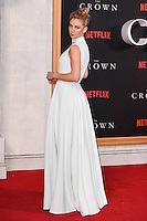 LONDON, UK. November 1, 2016: Vanessa Kirby at the World Premiere of the Netflix series &quot;The Crown&quot; at the Odeon Leicester Square, London.<br /> Picture: Steve Vas/Featureflash/SilverHub 0208 004 5359/ 07711 972644 Editors@silverhubmedia.com