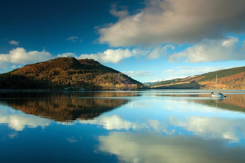 Loch Fyne and Dun na Cuaiche, Inveraray, Argyll & Bute