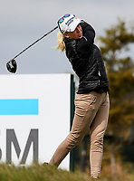 Brooke Pancake.<br /> McKayson NZ Women's Golf Open, first Practice Round, Windross Farm Golf Course, Manukau, Auckland, New Zealand, Monday 25 September 2017.  Photo: Simon Watts/www.bwmedia.co.nz