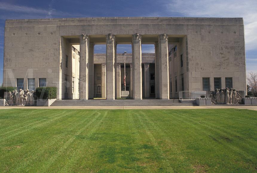 Jackson, Mississippi, MS, War Memorial in Jackson.