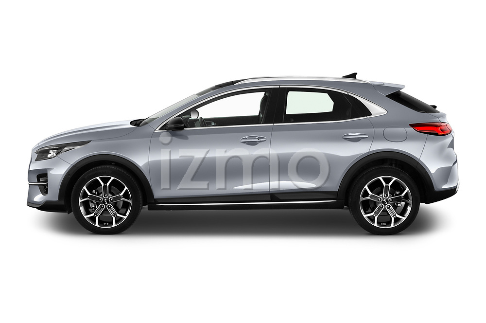 Car Driver side profile view of a 2020 KIA XCeed Sense 5 Door SUV Side View