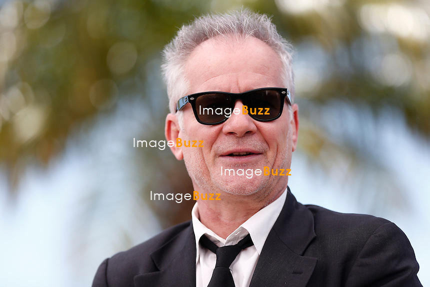 Thierry Fremaux attends the 'Grace of Monaco' photocall during the 67th Annual Cannes Film Festival.<br /> Cannes, France, May 14, 2014.
