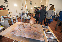 2018/04/10 Kultur | Bode-Museum | Skulpturen-Restaurierung
