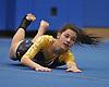 Bethpage gymnastics at Long Beach High School Monday, January 4, 2016. Gianna Iglesias - Floor