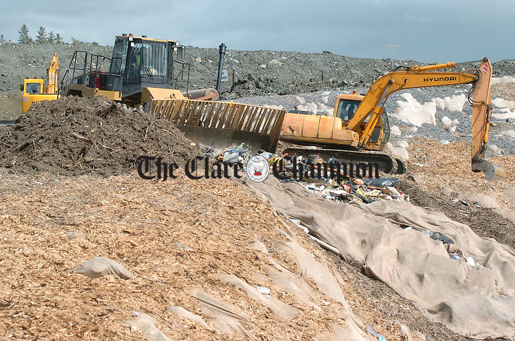 Inagh landfill site. Photograph by John Kelly.