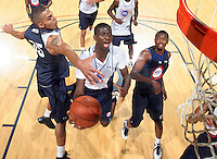 Myck Kabongo at the NBPA Top100 camp June 18, 2010 at the John Paul Jones Arena in Charlottesville, VA. Visit www.nbpatop100.blogspot.com for more photos. (Photo © Andrew Shurtleff)