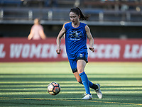 Seattle, WA - Saturday July 15, 2017: Kiersten Dallstream during a regular season National Women's Soccer League (NWSL) match between the Seattle Reign FC and the Boston Breakers at Memorial Stadium.