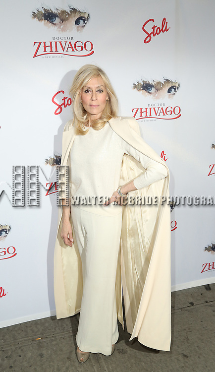 Judith Light attends the Broadway Opening Night Performance of  'Doctor Zhivago'  at  The Broadway Theatre on April 21, 2015 in New York City.