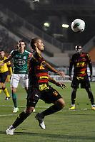 ATENÇÃO EDITOR: FOTO EMBARGADA PARA VEÍCULOS INTERNACIONAIS - SÃO PAULO, SP, 06 DE SETEMBRO DE 2012 - CAMPEONATO BRASILEIRO - PALMEIRAS x SPORT: Felipe Azevedo  durante partida Palmeiras x Sport Recife, válida pela 22ª rodada do Campeonato Brasileiro no Estádio do Pacaembú. FOTO: LEVI BIANCO - BRAZIL PHOTO PRESS
