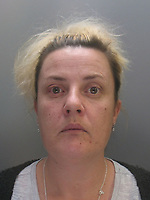 Pictured: Undated custody picture of Mandy Jones<br />
