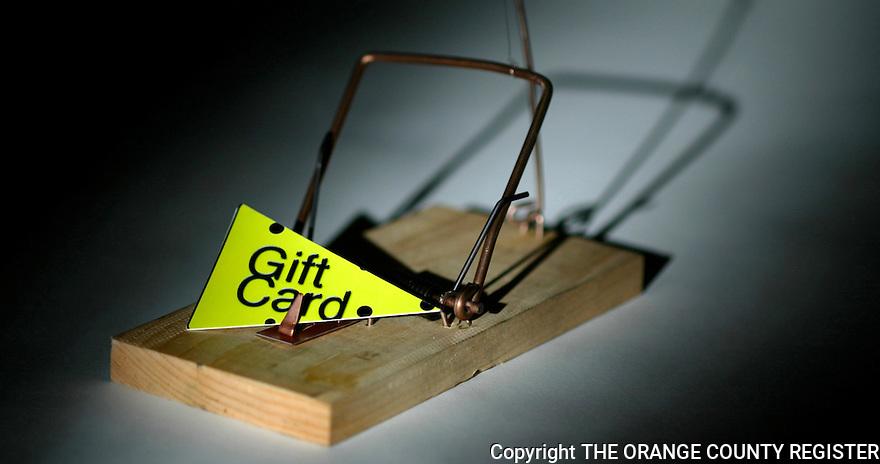 Gift Card Traps - Portfolio only.