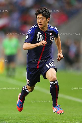 Shinji Kagawa (JPN), .June 3, 2012 - Football / Soccer : .FIFA World Cup Brazil 2014 Asian Qualifier Final Round, Group B .match between Japan 3-0 Oman .at Saitama Stadium 2002, Saitama, Japan. .(Photo by Daiju Kitamura/AFLO SPORT) [1045]