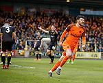 11.05.2018 Livingston v Dundee Utd:  Scott Fraser celebrates his goal