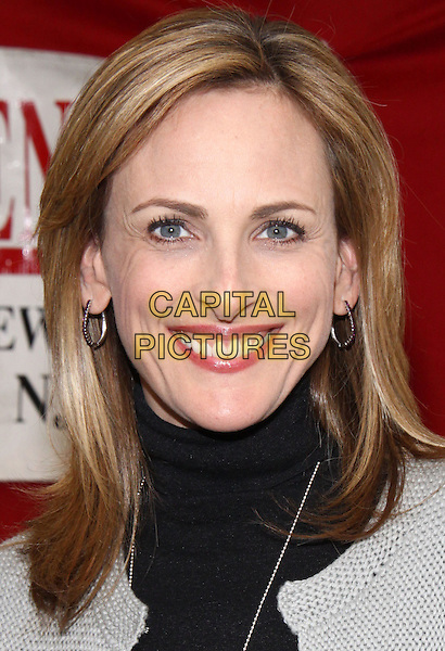 """MARLEE MATLIN.""""I'll Scream Later"""" Book Signing held at Bookends Book Store, Ridgewood, New Jersey, USA, .14th April 2009..portrait headshot  black top grey gray  sweater jumper polo neck .CAP/ADM/PZ.©Paul Zimmerman/Admedia/Capital Pictures"""