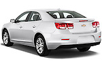 Rear three quarter view of a 2013 Chevrolet Malibu ECO 1SA