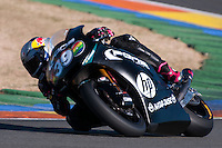Luis Salom at pre season winter test IRTA Moto3 & Moto2 at Ricardo Tormo circuit in Valencia (Spain), 11-12-13 February 2014