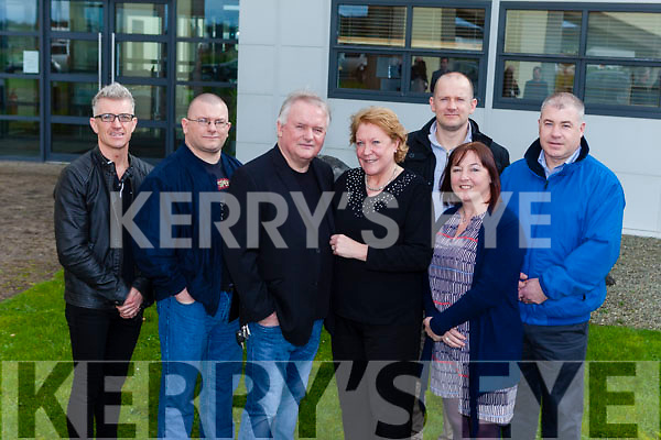 Mary Dolan pictured with family on Friday, her last day working at Kerry Technology Park, after 28 years service. Pictured from l-r were: Joe O'Brien, Tom Dolan, Paul Donal, Mary Dolan, Alan Dolan, Charlotte Dolan and Paul Dolan.