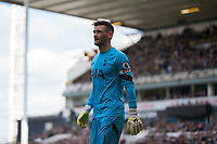 Hugo Lloris of Tottenham Hotspur during the Premier League match between Tottenham Hotspur and Bournemouth at White Hart Lane, London, England on 15 April 2017. Photo by Mark  Hawkins / PRiME Media Images.