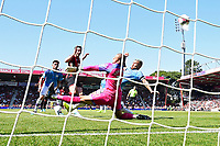 Adam Smith of AFC Bournemouth misses a good opportunity during AFC Bournemouth vs Manchester City, Premier League Football at the Vitality Stadium on 25th August 2019