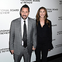 08 January 2020 - New York, New York - Adam Sandler and Jackie Sandler at the National Board of Review Annual Awards Gala, held at Cipriani 42nd Street. Photo Credit: LJ Fotos/AdMedia