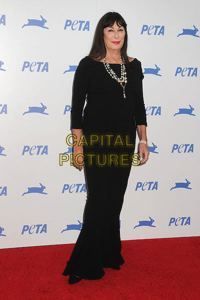 30 September 2015 - Hollywood, California - Anjelica Huston. PETA 35th Anniversary Gala held at the Hollywood Palladium. <br /> CAP/ADM/BP<br /> &copy;BP/ADM/Capital Pictures