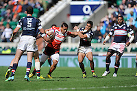 Lomano Lemeki of Japan in action during Day Two of the iRB Marriott London Sevens at Twickenham on Sunday 11th May 2014 (Photo by Rob Munro)