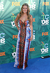 TV Personality Lauren Conrad arrives at the 2008 Teen Choice Awards at the Gibson Amphitheater on August 3, 2008 in Universal City, California.