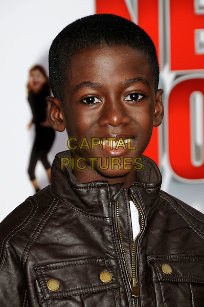 """KWESI BOAKYE.""""The Spy Next Door"""" Los Angeles Premiere held at The Grove,  Los Angeles, California, USA, .9th January 2010..portrait headshot   brown leather .CAP/ADM/BP.©Byron Purvis/Admedia/Capital Pictures"""