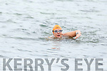Elaine Burrows in training for her UK to France Cross Channel swim in Fenit on Saturday morning.