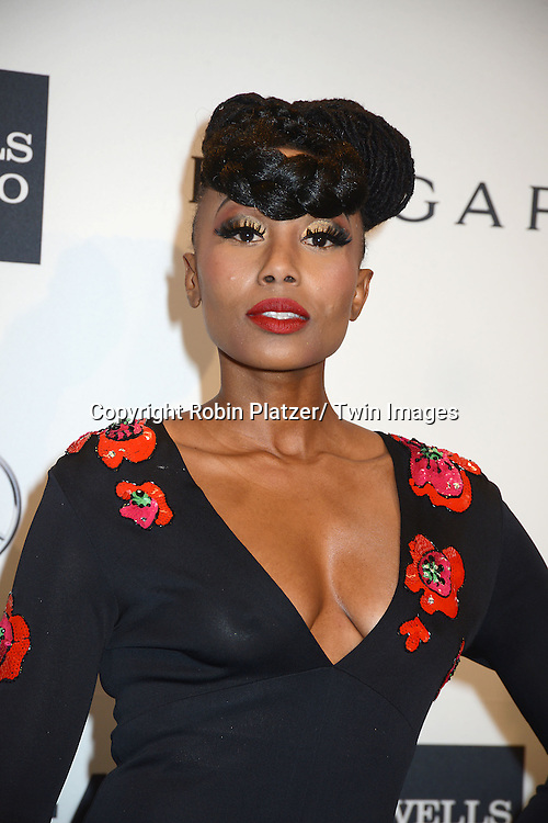 Folami attends the amfAR New York Gala on February 5, 2014 at Cipriani Wall Street in New York City.