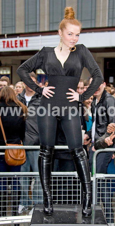 **ALL ROUND PICTURES FROM SOLARPIX.COM**                                             **WORLDWIDE SYNDICATION RIGHTS**                                                                                  Caption: The Britain's got talent 2011 London Auditions at the Hammersmith Apollo, London, UK. 5 January 2011                                                                              This pic: Adele from Urban Voices                                                                                           JOB REF: 12631 SKD       DATE: 05_01_2011                                                           **MUST CREDIT SOLARPIX.COM OR DOUBLE FEE WILL BE CHARGED**                                                                      **MUST AGREE FEE BEFORE ONLINE USAGE**                               **CALL US ON: +34 952 811 768 or LOW RATE FROM UK 0844 617 7637**