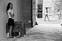 Lecce - Cortili aperti 2011 - Ingresso al un cortile privato aperto per l'occasione.