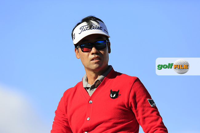 Kevin Na (USA) tees off the 1st tee during Saturday's Round 3 of the 2017 CareerBuilder Challenge held at PGA West, La Quinta, Palm Springs, California, USA.<br /> 21st January 2017.<br /> Picture: Eoin Clarke | Golffile<br /> <br /> <br /> All photos usage must carry mandatory copyright credit (&copy; Golffile | Eoin Clarke)