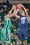 Jackson State Tigers guard Christian Williams (13) in action during the game between the Jackson State Tigers and the North Texas Mean Green at the Super Pit arena in Denton, Texas. UNT defeats Jackson State 83 to 65...