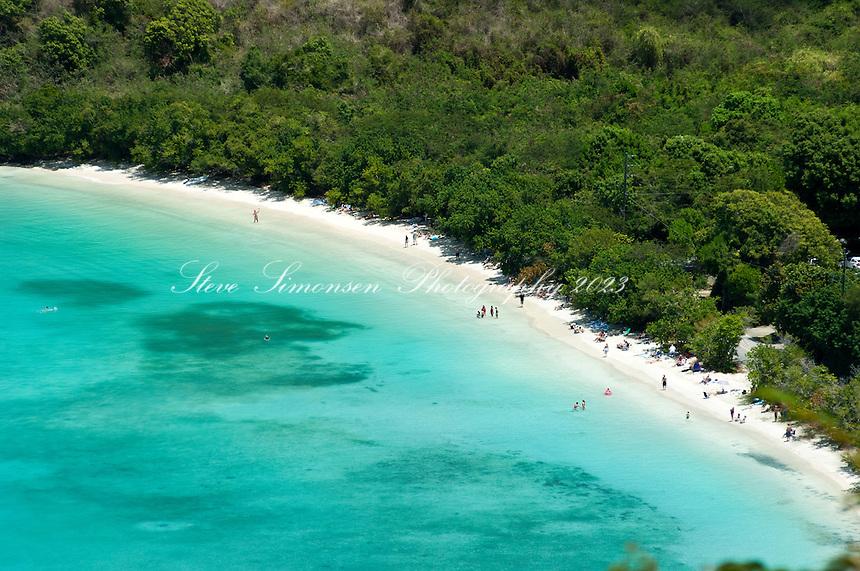Maho Bay St. John.Virgin Islands National Park.U.S. Virgin Islands