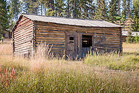 Garnet Ghost Town near Missoula Montana is one of Mantana's best preserved ghost towns.  Garnet was a thriving gold mining town about a hundred years ago.  Today there are approximately 30 buildings which look today much like they did in 1895.