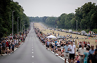 packed crowds all along the roads towards Brussels<br /> <br /> Stage 1: Brussels to Brussels (BEL/192km) 106th Tour de France 2019 (2.UWT)<br /> <br /> ©kramon