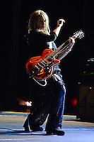 HOLLYWOOD FL - NOVEMBER 4 :  Nancy Wilson of Heart performs at Hard Rock live held at the Seminole Hard Rock hotel &amp; Casino on November 4, 2012 in Hollywood, Florida.  Credit: mpi04/MediaPunch Inc. .<br /> &copy;NortePhoto