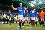 29.12.2019 Celtic v Rangers: Borna Barisic celebrates at full time