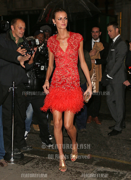 Jacquetta Wheeler arriving for the Harper's Bazaar Women of the Year Awards 2012 at Claridge's Hotel, London. 31/10/2012 Picture by: Henry Harris / Featureflash