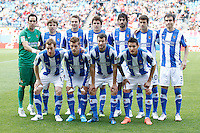 02.05.2012 SPAIN -  La Liga matchday 20th  match played between Atletico de Madrid vs Real Sociedadl (1-1) at Vicente Calderon stadium. The picture show Real Sociedad Team Group Liune-up
