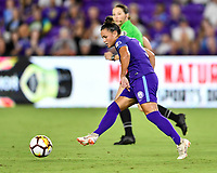 Orlando, FL - Saturday July 07, 2018: Camila Martins Pereira during the second half of a regular season National Women's Soccer League (NWSL) match between the Orlando Pride and the Washington Spirit at Orlando City Stadium. Orlando defeated Washington 2-1.