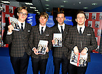 Mcfly British pop rockers turned reality stars sign copies of their debut book, Unsaid Things: Our Story, detailing their rise to fame and stories from their own lives.....WHSmith, 126 Midsummer Arcade, Milton Keynes
