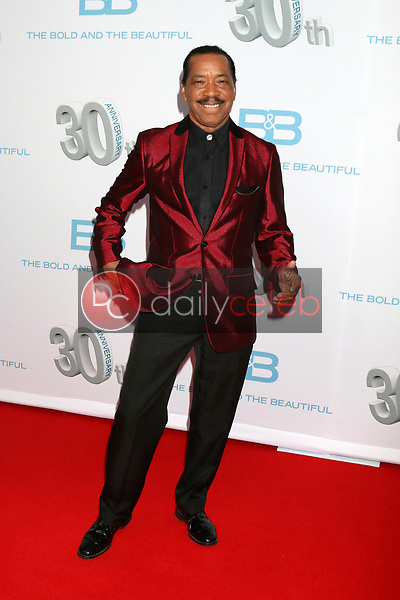 "Obba Babatunde<br /> at the ""The Bold and The Beautiful"" 30th Anniversary Party, Clifton's Downtown, Los Angeles, CA 03-18-17<br /> David Edwards/DailyCeleb.com 818-249-4998"