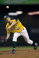 Relief pitcher Kevin Winter #46 of the Baylor Bears in action versus the Rice Owls  in the 2009 Houston College Classic at Minute Maid Park March 1, 2009 in Houston, TX.  The Owls defeated the Bears 8-3. (Photo by Brian Westerholt / Four Seam Images)