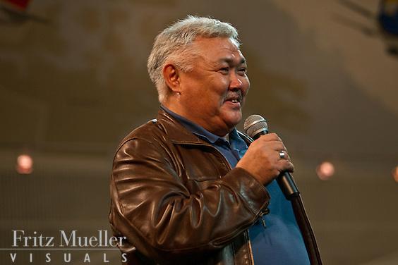 Author and storyteller Michael Kusugak, Nunavut