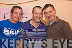 Gerry Manion, Michael Welsh, Niall Welsh. Pictured at the Knocknagoshel Festival on Friday