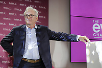 Chairman of the tournament Franck Riboud speaks at the opening ceremony of The Evian Championship 2017, the final Major of the ladies season, held at Hotel Royal, Evian-les-Bains, France. 12th September 2017.<br /> Picture: Eoin Clarke | Golffile<br /> <br /> <br /> All photos usage must carry mandatory copyright credit (&copy; Golffile | Eoin Clarke)