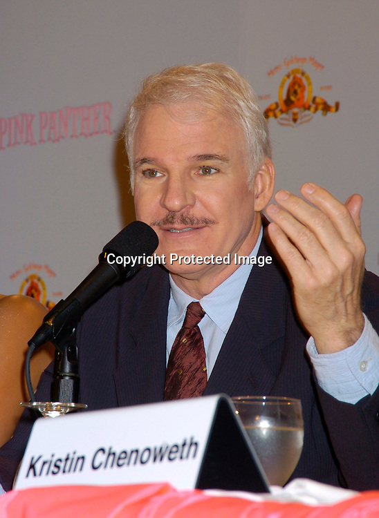 Steve Martin ..at the Pink Panther start of Production Press Conference on May 7, 2004 at the Waldorf Astoria Hotel.                    Photo by Robin Platzer, Twin Images